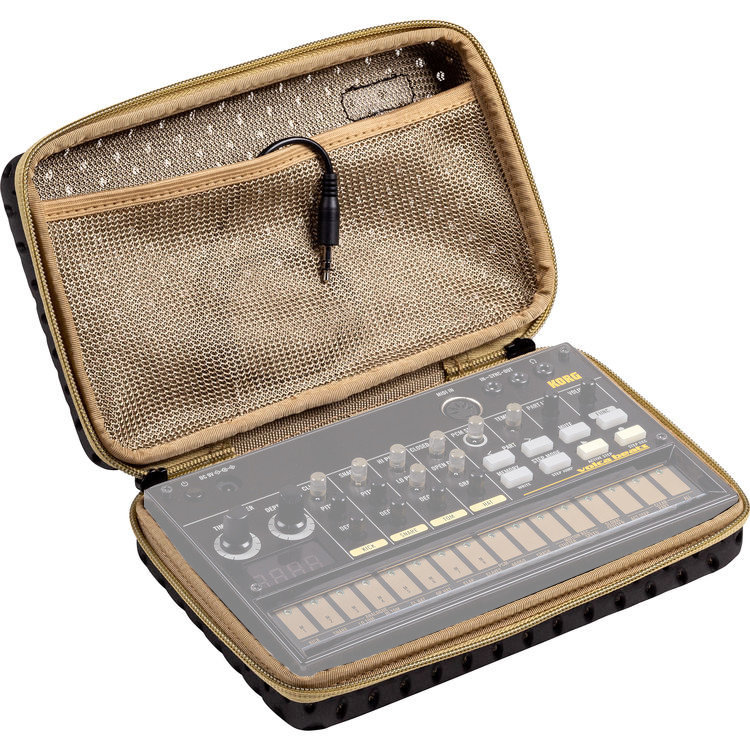 View larger image of Korg Sequenz Volca Synthesizer Case - Black/Olive