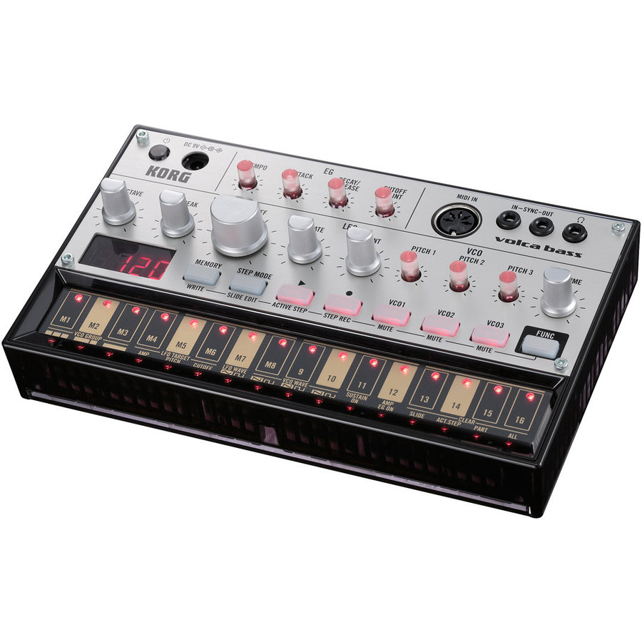 View larger image of Korg Volca Bass Analogue Bass Machine