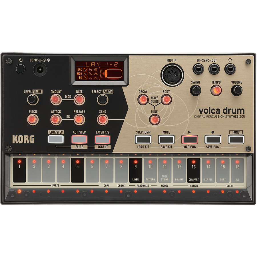 View larger image of Korg Volca Drum Digital Percussion Synthesizer