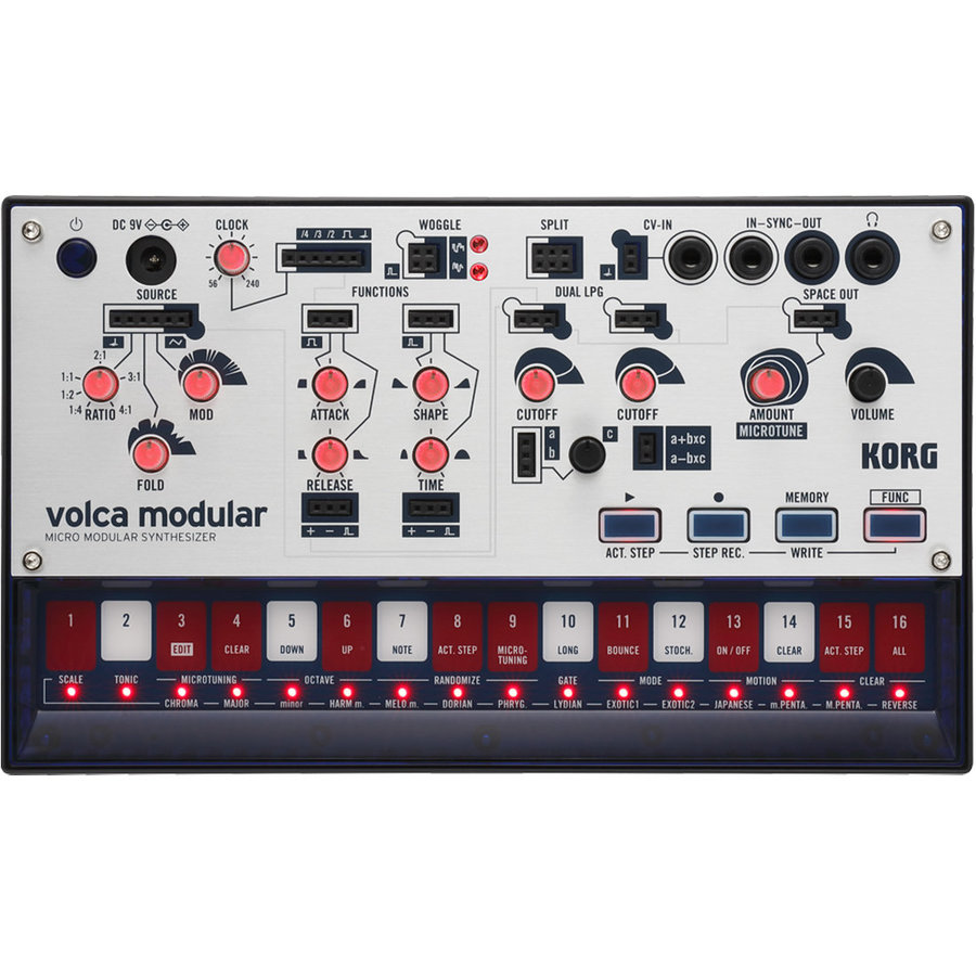 View larger image of Korg Volca Micro Modular Synthesizer