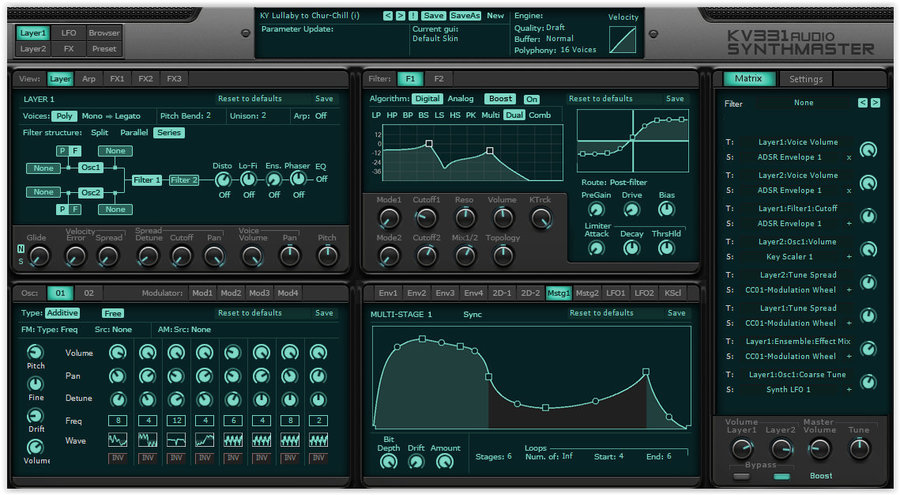 View larger image of KV331 Audio SynthMaster - Digital Download