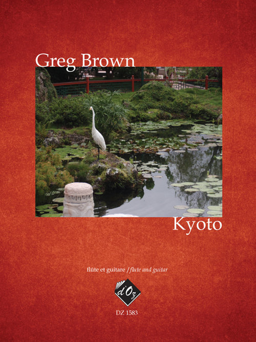View larger image of Kyoto (Brown) - Guitar & Flute Duet