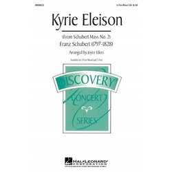 Kyrie Eleison, 3 Part Mixed Parts