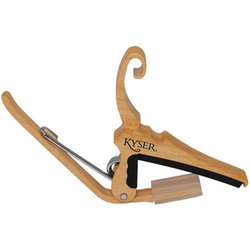 Kyser Quick-Change Acoustic Guitar Capo - Maple