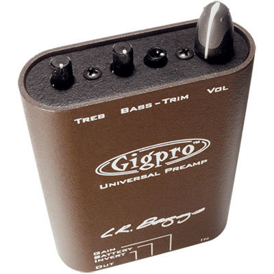 View larger image of L.R. Baggs Gig Pro Preamp