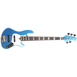Lakland Skyline Series Darryl Jones Signature 5-String Bass Guitar - Lake Placid Blue