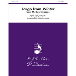 Largo from Winter (from The Four Seasons) - (Flex Woodwind Ensemble) - Score Only