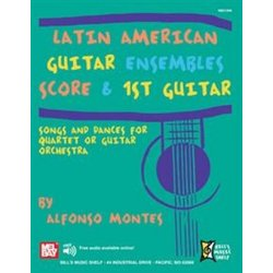 Latin American Guitar Ensembles - (Score & 1st Guitar) EBOOK