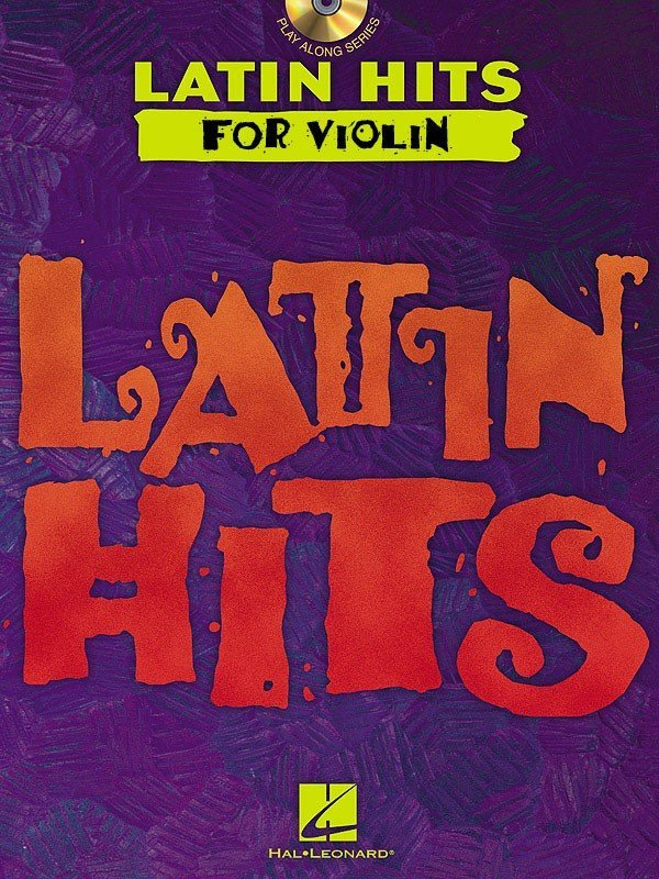 View larger image of Latin Hits For Violin w/CD