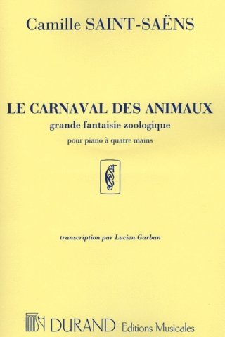 View larger image of Le Carnaval des Animaux (Carnival of the Animals) Saint-Saens (1P4H)