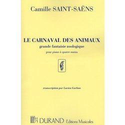 Le Carnaval des Animaux (Carnival of the Animals) Saint-Saens (1P4H)