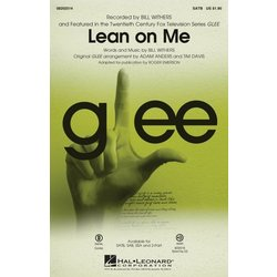 Lean on Me (from Glee), SATB Parts