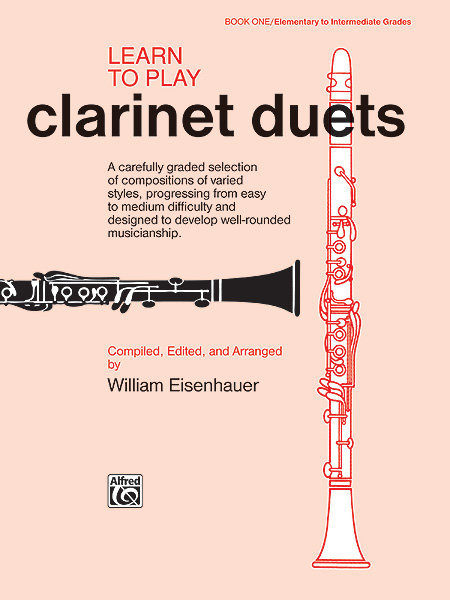 View larger image of Learn to Play Clarinet Duets