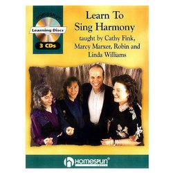 Learn to Sing Harmony w/CD