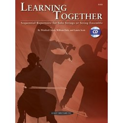 Learning Together - Bass (w/CD)