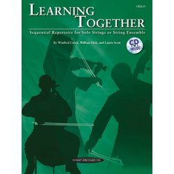 Learning Together - Cello (w/CD)