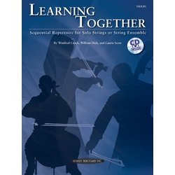 Learning Together - Violin (w/ CD)