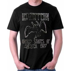 Led Zeppelin USA 77 T-Shirt - Men's Large