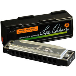 Lee Oskar Major Diatonic Harmonica - F