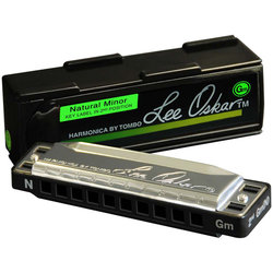 Lee Oskar Natural Minor Harmonica - D