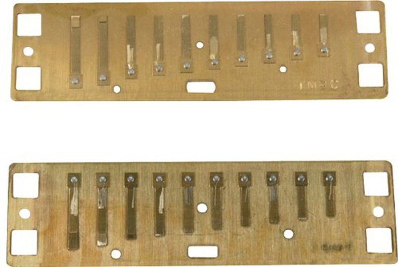 View larger image of Lee OskEr Major Diatonic Reed Plates - Eb