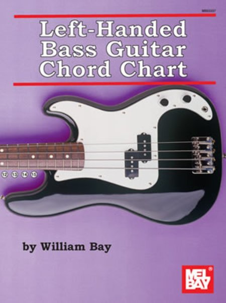 View larger image of Left Handed Bass Guitar Chord Char