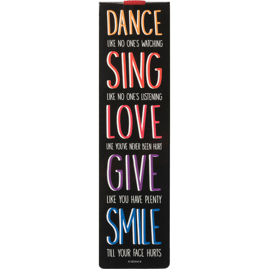 View larger image of Legami Dance Sing Love Bookmark