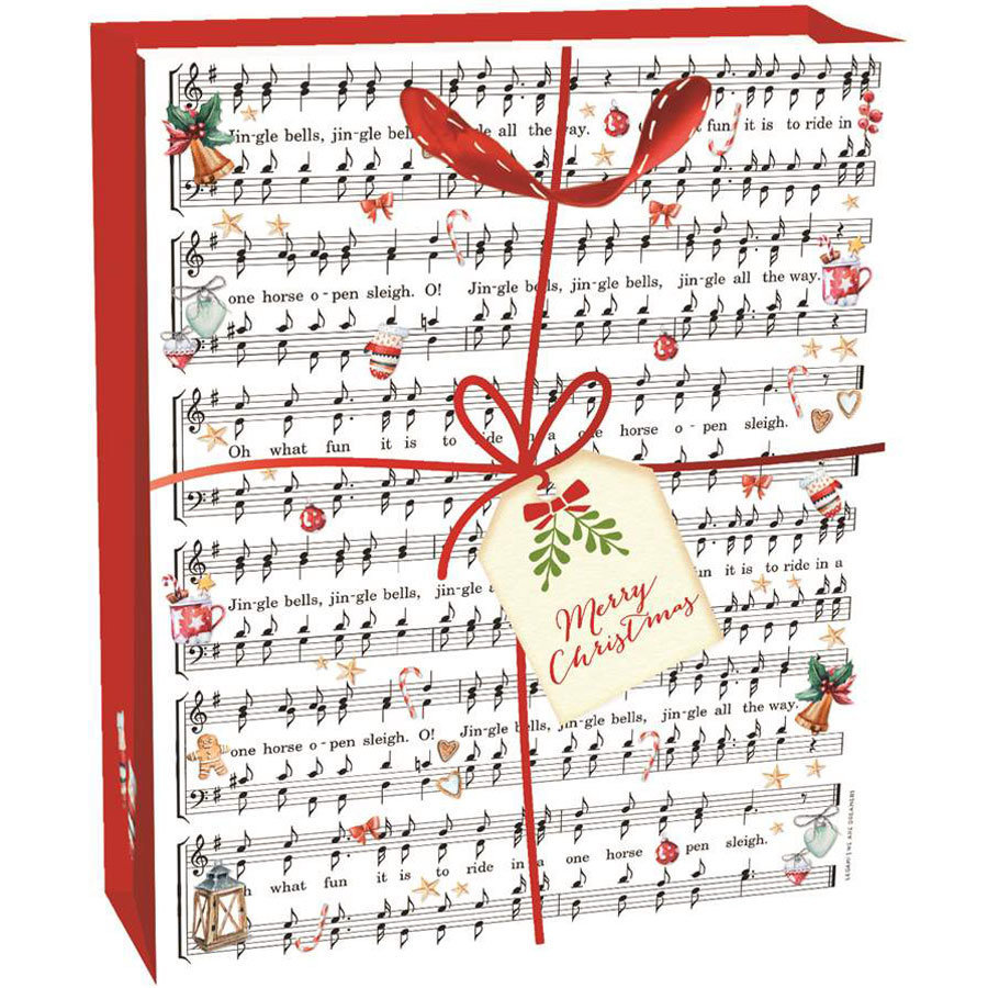 View larger image of Legami Winter Music Gift Bag - XL