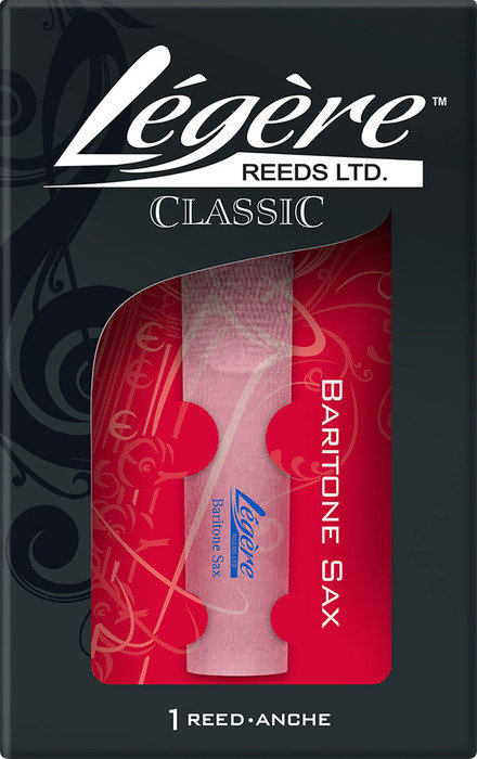 View larger image of Legere Classic Baritone Saxophone Reed - #3, Single