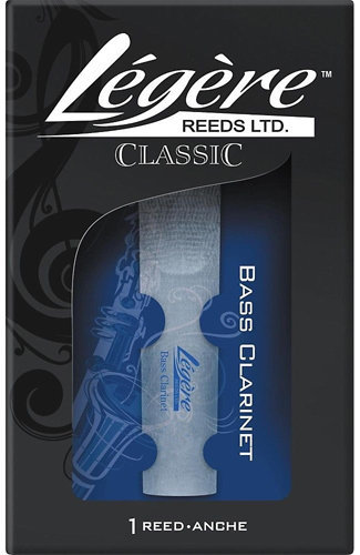 View larger image of Legere Classic Bass Clarinet Reed - #4, Single