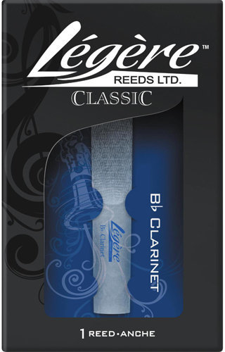 View larger image of Legere Classic Bb Clarinet Reed - #4, Single