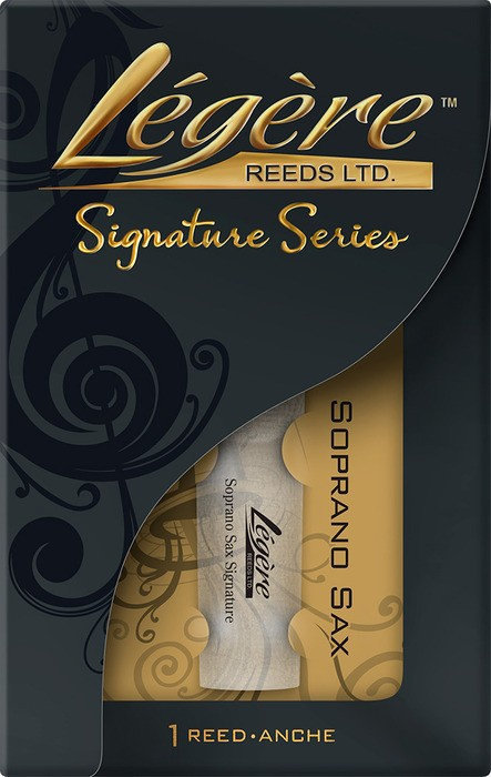 View larger image of Legere Signature Soprano Saxophone Reed - #3, Single