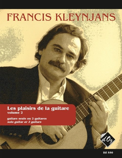 View larger image of Les Plaisirs De La Guitar, Vol. 2 (Avec Acc Par Le Prof) (Kleynjans) - Guitar Duet
