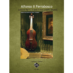 Lessons For 1, 2 And Viols (1609) [Duets], (Ferrabosco) - Guitar Duet