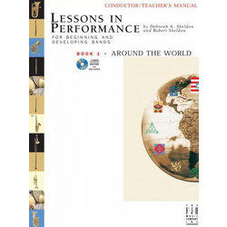 Lessons in Performance Book 1: Around the World - Bari Sax