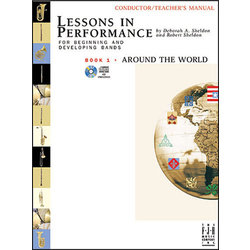 Lessons in Performance Book 1: Around the World - Baritone TC