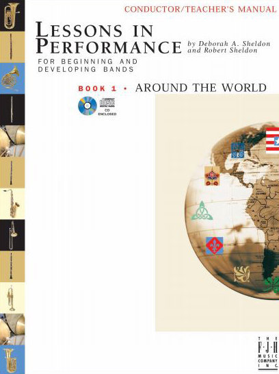 View larger image of Lessons in Performance Book 1: Around the World - Tenor Sax