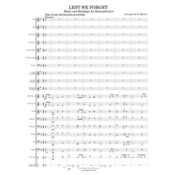 Lest We Forget - Score & Parts, Grade 2
