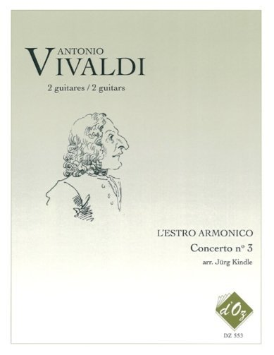 View larger image of Lestro Armonico, Concerto No.3, Rv 310 (Vivaldi/Kindle)