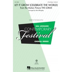 Let It Grow (Celebrate the World) - from The Lorax - ShowTrax CD