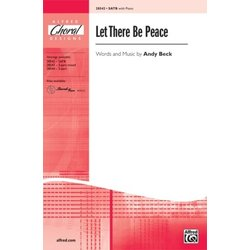 Let There Be Peace, SATB Parts