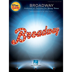 Let's All Sing Broadway - Piano/Vocal Score