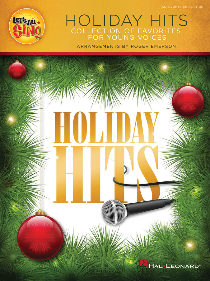 View larger image of Let's All Sing Holiday Hits - Piano/Vocal Score