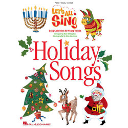 Let's All Sing Holiday Songs - Piano/Vocal/Score