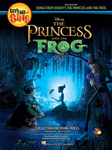 View larger image of Let's All Sing Songs from Disney's The Princess & the Frog - Piano Accomp CD