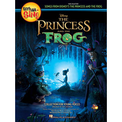 Let's All Sing Songs from Disney's The Princess & the Frog - Piano Accomp CD