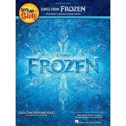 Let's All Sing Songs from Frozen - Performance/Accompaniment CD