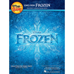 Let's All Sing Songs from Frozen - Piano/Vocal Score