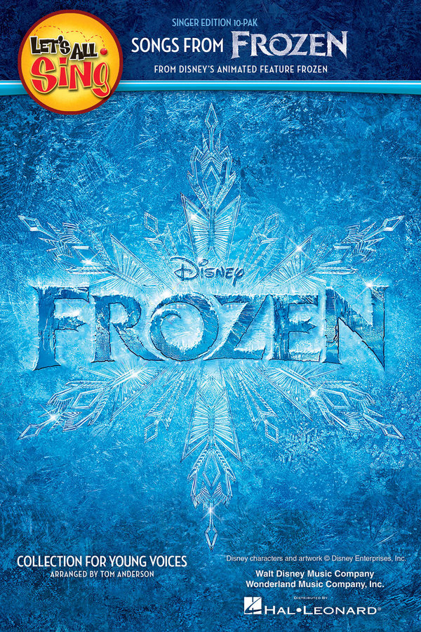 View larger image of Let's All Sing Songs from Frozen - Singer Edition(10 Pack)
