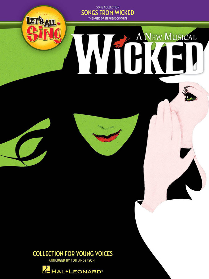View larger image of Let's All Sing Songs from Wicked - Piano/Vocal Score